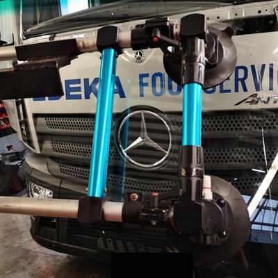 Austausch Windschutzscheibe LKW Mercedes Antos 2018- IBB Autoglas Ibbenbüren