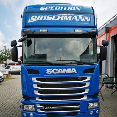 Windschutzscheibe LKW tauschen Schania R450 5er Reihe