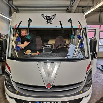 Windschutzscheibe Wohnmobil Bürstner Viseo Vollintegriert